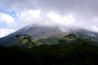 Arenal Volcano from the Arenal Lodge